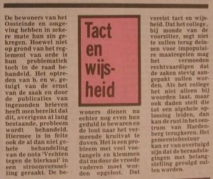 Tact en wijsheid