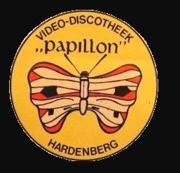 Eerste sticker Papillon