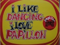Sticker 'I like dancing - I love Papillon' - Papillon