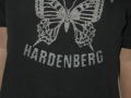T-shirt Papillon Zwart