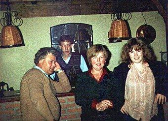 Tinus, Bert, Rika, Ina Mepschen