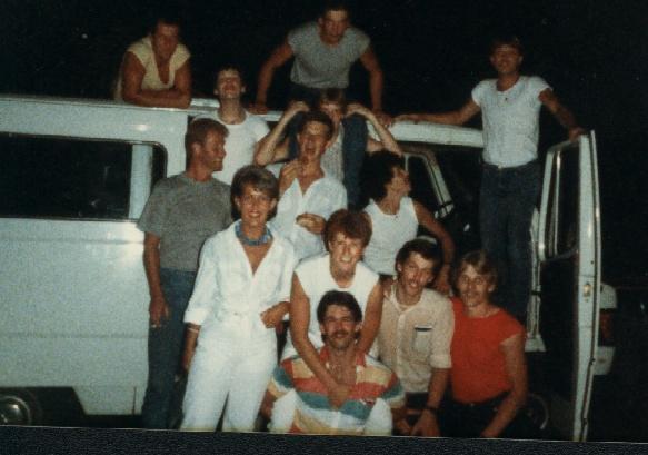 voltallig personeel 1984 'The City'