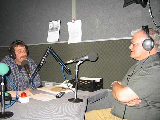 Een goed gesprek tussen voormalig eigenaar Piet Vleesman van De Papillon en zijn oud-werknemer Henk Stoeten.