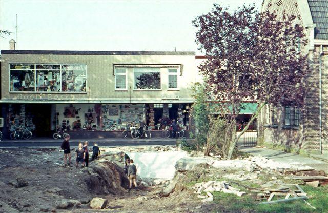 Winkelpand Roel Bosch waar later Papillon in gevestigd was