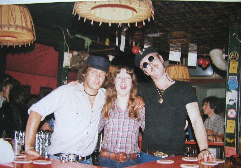 Bovenbar, Egbert, Gerrie en Bernard