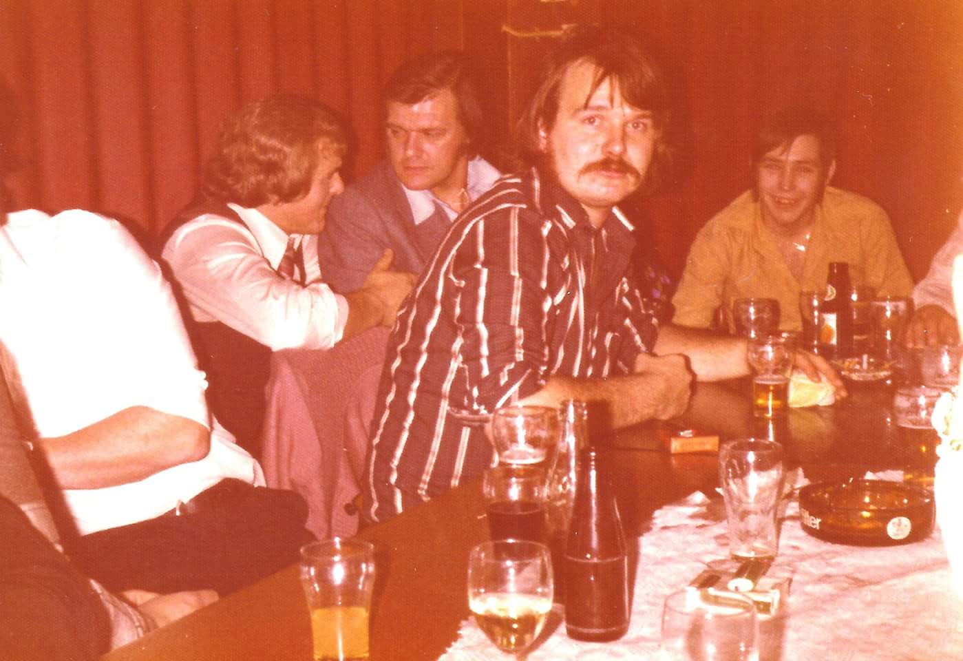 Harry, Piet, Johan, Fred