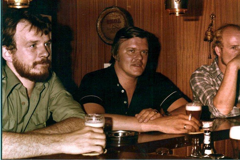 Johan Pasveer, Piet Vleesman en Kris Meerlo.