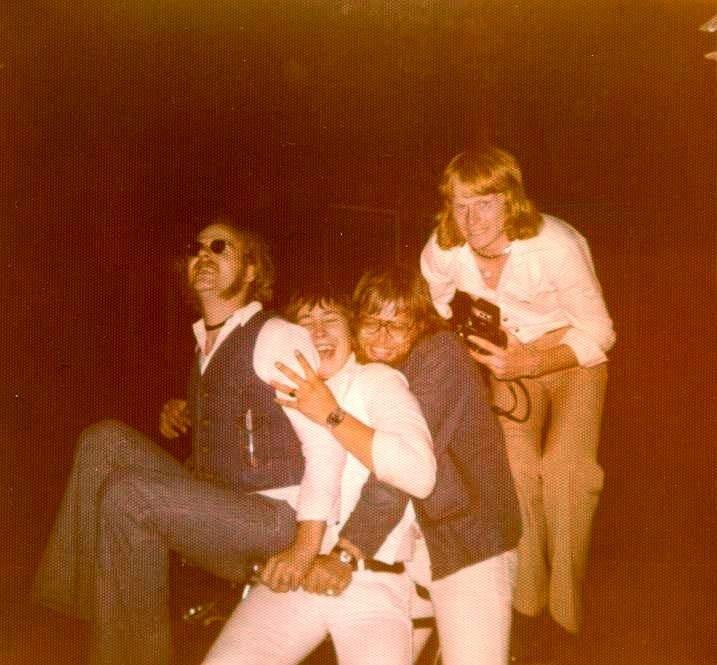 Kris, Fred, Gerrit en Andre