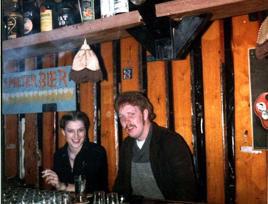 Tineke Koster, Bernard Juurlink - lange bar 1979/1980