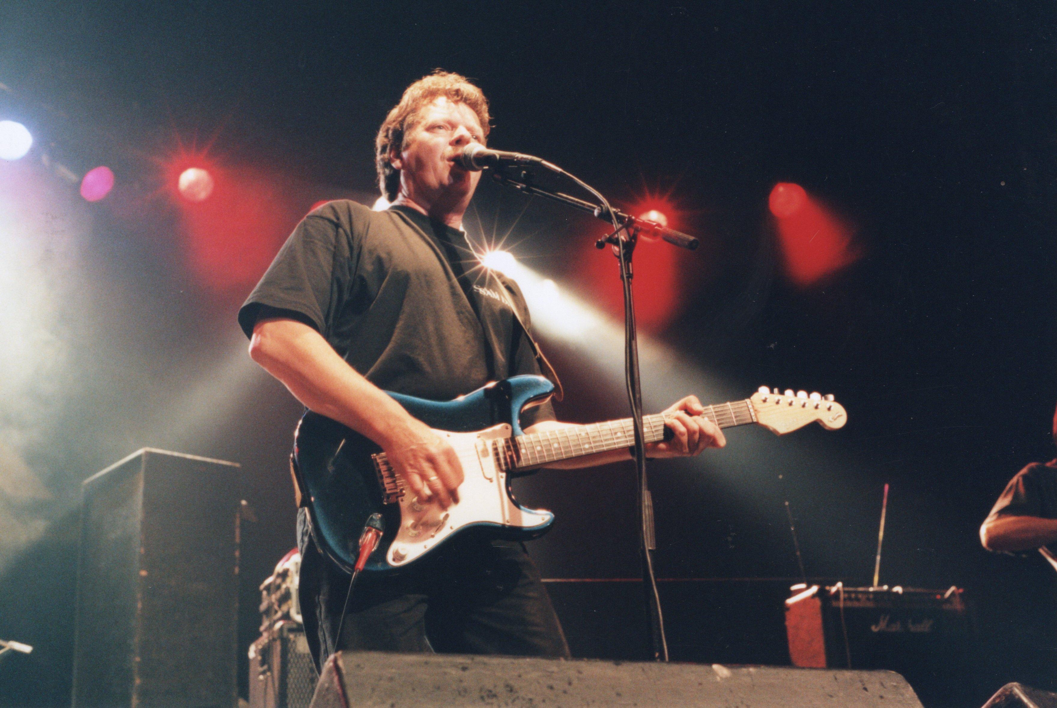 Sam Dice zanger / gitarist: Arie Ekkel