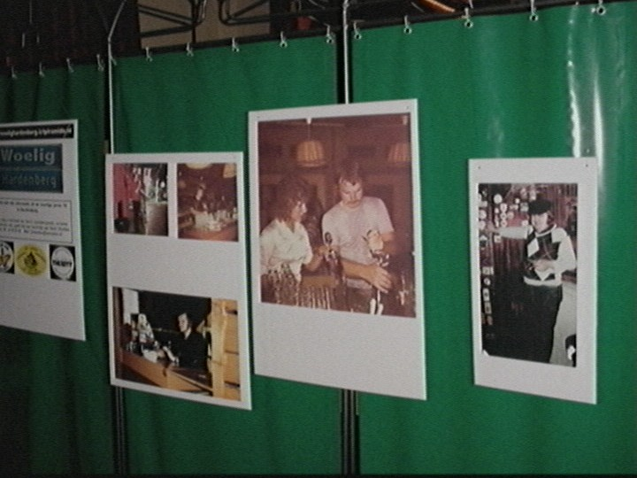 Foto's van vroeger nemen een prominente plaats in