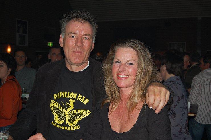 Herman met vriendin