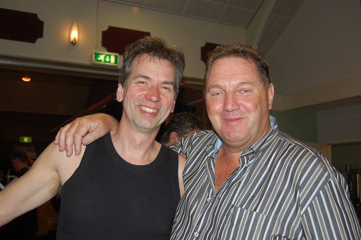 Martin Kelder samen met Herman Kosse uit Mauritius