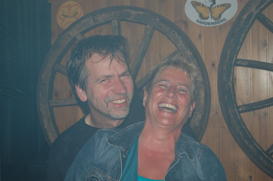 Martin Kelder en Annie Hallink