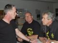 Tony, Johan en Egbert